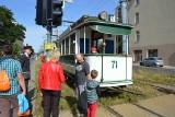 Wystawa taboru tramwajowego na al. Kościuszki! ZDJĘCIA