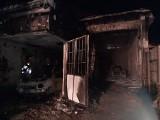 Pożar i eksplozje w Czarnej Białostockiej. To było piekło. Bardzo trudna akcja strażaków z powiatu białostockiego (zdjęcia i wybuchy)
