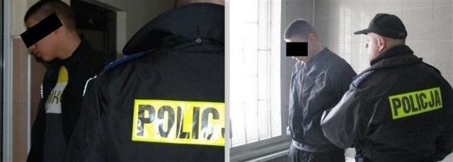Zatrzymany mężczyzna miał dźgnąć policjanta.