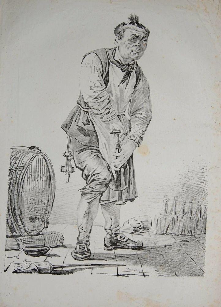Aleksander Orłowski (1777-1832), Piwniczy odkorkowujący...