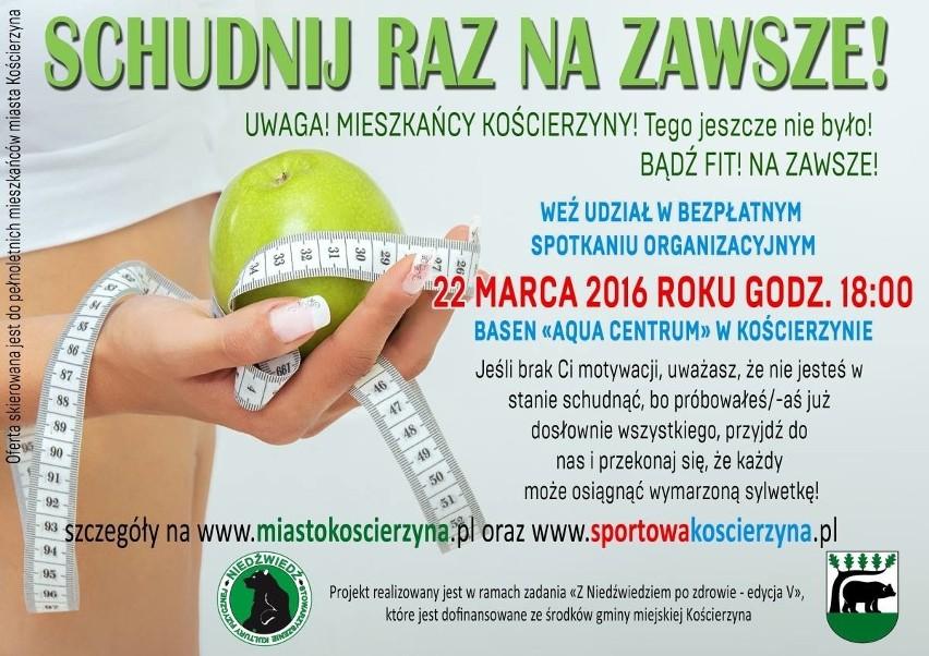 Gmina miejska Kościerzyna po raz pierwszy w historii wprowadza program, którego celem jest pomoc osobom cierpiącym na otyłość