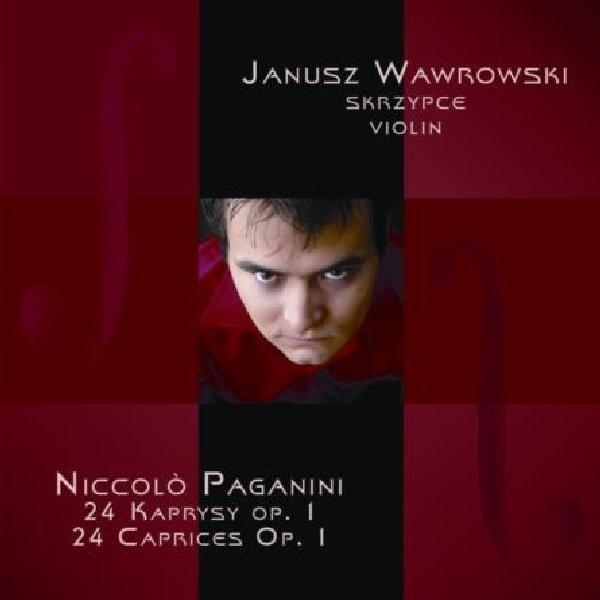 Okładka najnowszej płyty Janusza Wawrockiego.