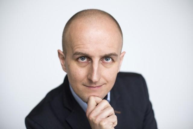 Wojciech Harpula. Redaktor naczelny Gazety Krakowskiej