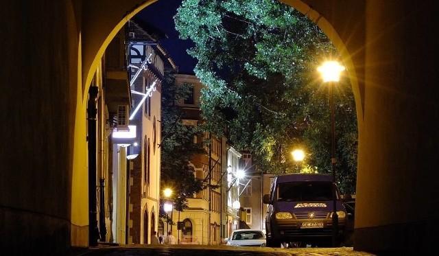 Ulica Szpitalna w Opolu.