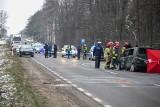 Tragiczny wypadek na DK 65. Kobieta zginęła na miejscu