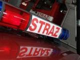 Pożar w zbiorniku z żywicą na terenie firmy Trakt w Górkach Szczukowskich pod Kielcami