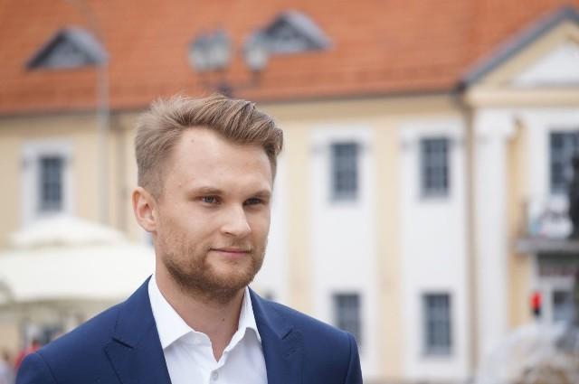 Krzysztof Truskolaski na Rynku Kościuszki ogłosił swój program