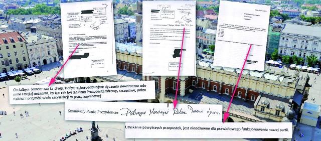 W niektórych wnioskach o wjazdówki znalazły się również noworoczne życzenia dla prezydenta Krakowa Jacka Majchrowskiego