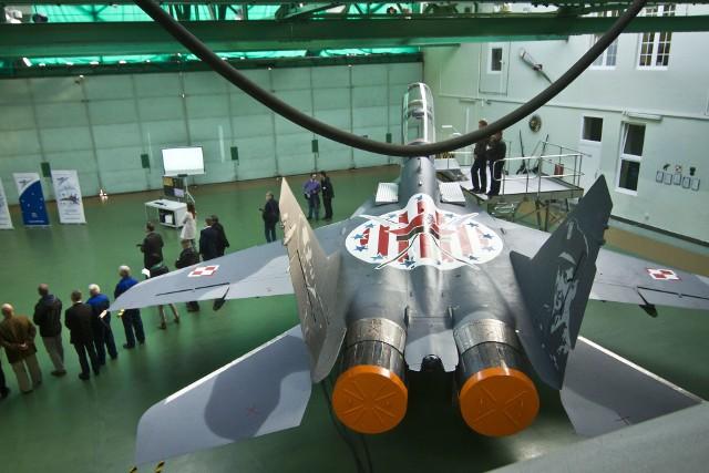 Jeden z MiG-ów po modernizacji w bydgoskich zakładach