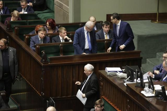 Jarosław Kaczyński, Sejm 28 grudnia 2018 r.