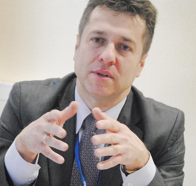- Będę rozmawiał z ludźmi - zapewnia Przemysław Ślusarski. Pracę w Ratuszu zaczyna 1 stycznia