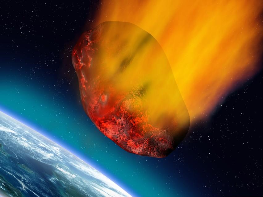"""Waga asteroidy """"Bennu"""" wynosi blisko 77 miliardy ton."""