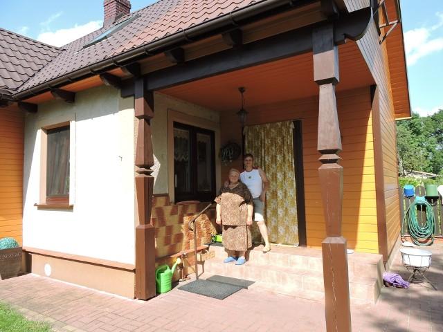Siostrę Zenona Martyniuka Wiolettę i mamę Teresę odwiedziliśmy cztery lata temu.