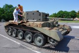 Czołg Cromwell z Portugalii już w Poznaniu [ZDJĘCIA]