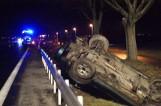 Grodzisk Wielkopolski - Ptaszkowo: Wypadek na drodze krajowej nr 32 - cztery osoby ranne, w tym dzieci [ZDJĘCIA]