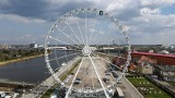 """Diabelski młyn """"Wheel of Szczecin"""" startuje 30 kwietnia. Zobacz ceny i jak będzie czynny. ZDJĘCIA"""