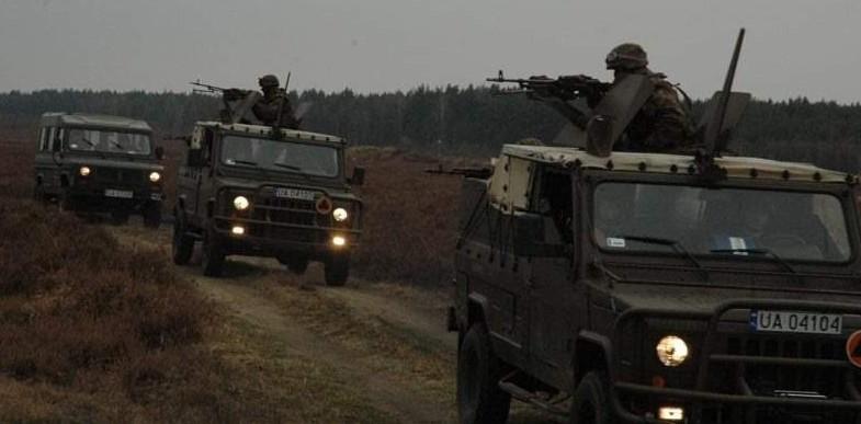 Kolumny wojskowych pojazdów przez cały tydzień będa się pojawiały na drogach województwa lubuskiego. Głównie w okolicach Żagania, Krosna Odrz. i Wędrzyna.