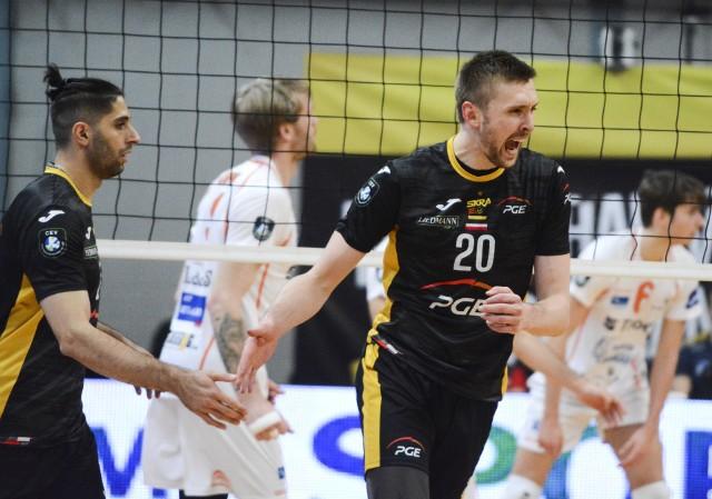PGE Skra Bełchatów pokonała belgijski zespół Lindemans Aalst 3:1