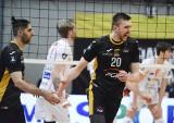 Wymęczone zwycięstwo PGE Skry Bełchatów z belgijskim zespołem Lindemans Aalst. Zdjęcia z meczu.
