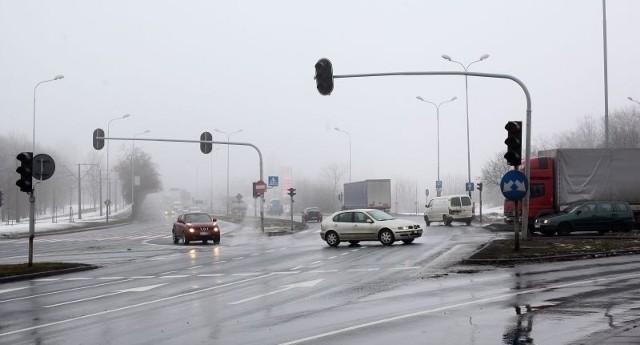 U zbiegu ulic Strykowskiej i Wojska Polskiego doszło wczoraj do kolizji.
