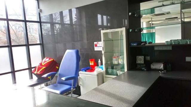 Punkt szczepień powszechnych w szybie Regis w Wieliczce. Rejestracja ruszy 5 maja, a rozpoczęcie tu szczepień zaplanowano na 8 maja 2021