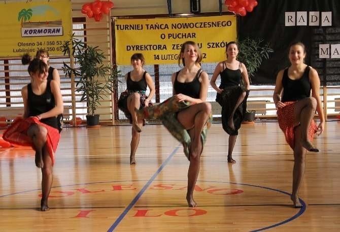 Turniej tańca nowoczesnego w Oleśnie