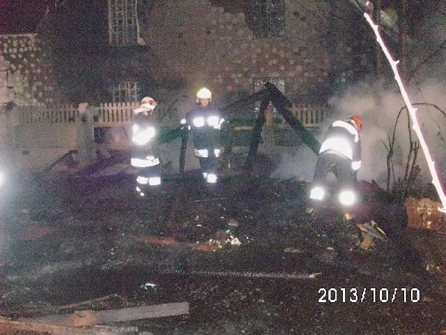 Nocna akcja strażaków w Jaworzni.