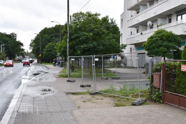 W najbliższych dniach możliwe są zmiany w organizacji ruchu w rejonie ul. Naramowickiej 219 i ul. Błażeja