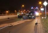 Potrącił policjanta. Padły strzały. Ranny bandyta w śpiączce (wideo)