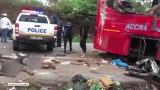 Zderzenie dwóch autobusów w Ghanie. Zginęło co najmniej 60 osób [WIDEO]