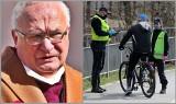 Profesor Simon: Nie rozumiem zakazu jazdy na rowerze. Gorsze jest picie wódki w domu