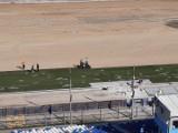 Na podgrzewanej płycie rzeszowskiego stadionu kładziona jest trawa. Wkrótce ruszą prace przy torze żużlowym