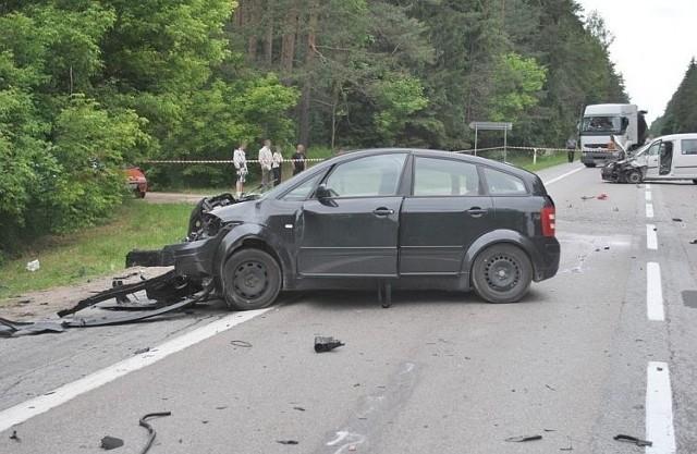 Wszyscy kierowcy byli trzeźwi. Szczegółowe okoliczności i przyczyny zaistniałego zdarzenia wyjaśniają augustowscy policjanci.