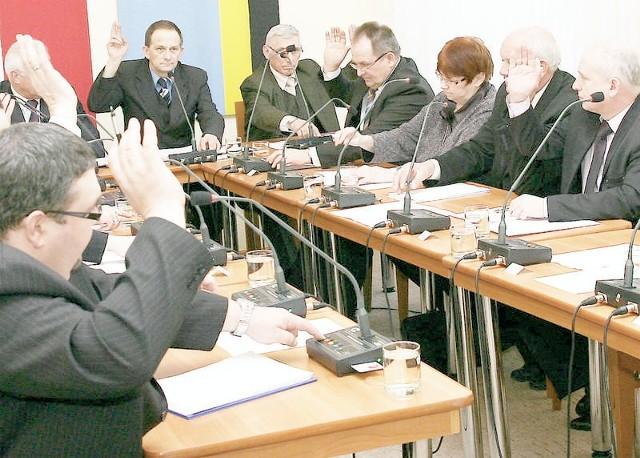 Uchwałę o dofinansowaniu radni miasta podjęli jednogłośnie