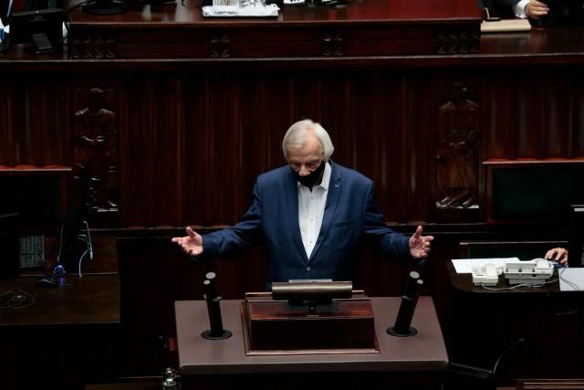 Odwołania Terleckiego domagają się posłowie KO, Lewicy oraz Polska2050.