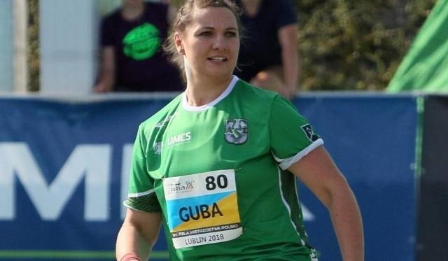 Paulina Guba (AZS UMCS Lublin) jest aktualną mistrzynią Europy seniorek w pchnięciu kulą z Berlina