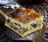 Desery. Szarlotka cytrynowa z serem. Niebanalne ciasto do niedzielnej kawy [PRZEPIS]