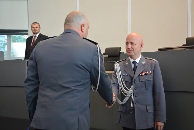 Wprowadzenie nowego komendanta wojewódzkiego policji w Katowicach