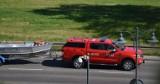 Tragiczny finał poszukiwań 46-latka na jeziorze w Mątowach Wielkich w gm. Miłoradz! W poniedziałek, 21.06.2021 odnaleziono jego ciało