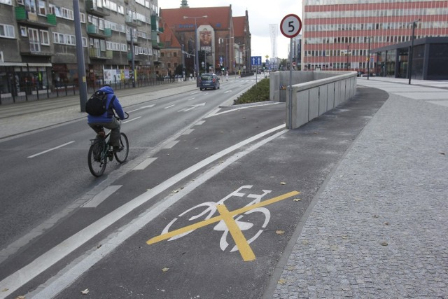 Droga rowerowa we Wrocławiu, zdjęcie ilustracyjne