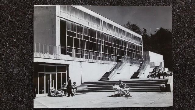 Ośrodek wypoczynkowo-leczniczy w Podczelu. Rok 1973