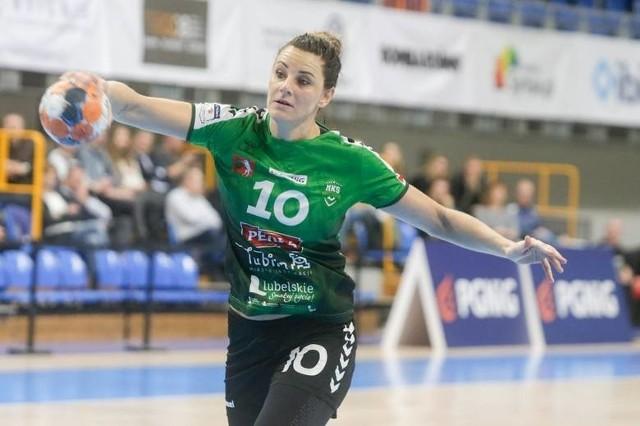 Marta Gęga jest jedną z najbardziej doświadczonych zawodniczek w reprezentacji Polski i drużynie MKS Perła Lublin