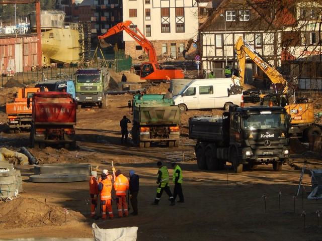 Przebudowa ulicy Portowej jest częścią budowy węzła komunikacyjnego