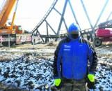 Reporter został pobity, kiedy robił zdjęcia budowy Energylandii w Zatorze. Co chcieli ukryć robotnicy?