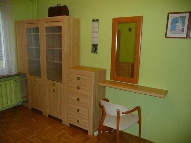 W cenie kawalerki jest mieszkanie (49 mkw.). Składa się z przestronnego, bardzo jasnego salonu, przestronnej, oddzielnej kuchni, mniejszego pokoju, łazienki z WC i przedpokoju.
