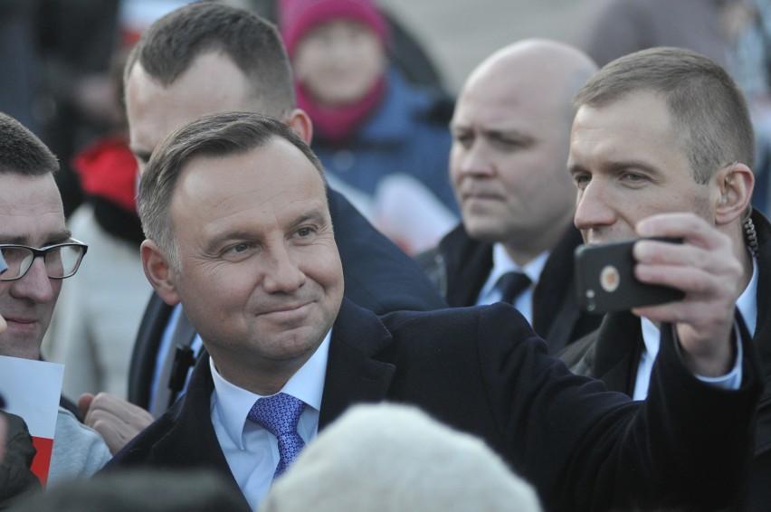 W poniedziałek, 1 kwietnia, do Gorzowa przyjechał prezydent...