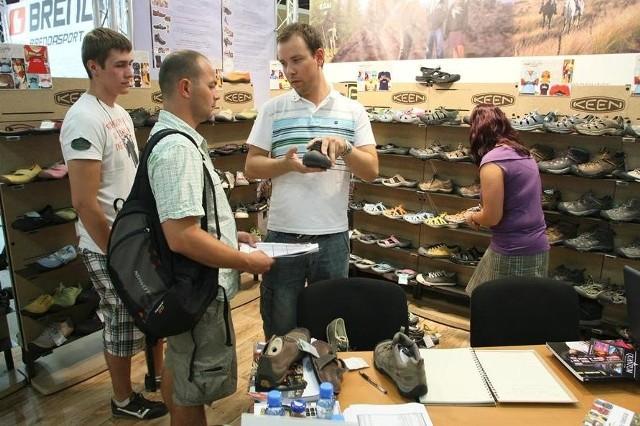 W tym roku, podobnie jak w ubiegłym zobaczymy najnowszą kolekcję obuwia sportowego marki Keen,fot. D. Łukasik
