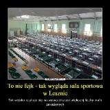 Koronawirus w Lesznie: Sala sportowa wypełniona łóżkami szpitalnymi - wojsko szykuje zaplecze na ewentualną kwarantannę