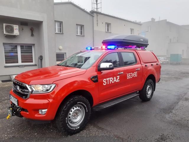 Samochód lekki rozpoznania ratowniczego Ford RangerTyp: SLRRModel: Ford RangerKabina: ilość miejsc siedzących 5Moc silnika:  170 KMRodzaj napędu: 4x4 terenowyZobacz kolejne zdjęcia. Przesuwaj zdjęcia w prawo - naciśnij strzałkę lub przycisk NASTĘPNE