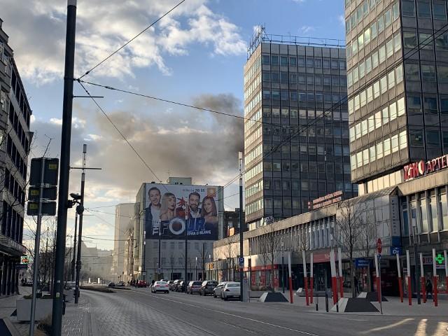 W sobotę doszło do pożaru budynku przy ul. Gwarnej.
